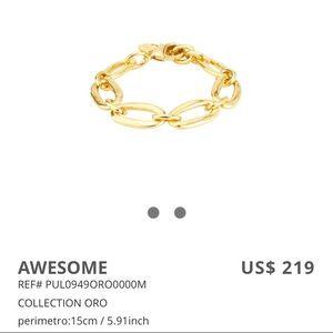 UNO DE 50 BRACELET GOLD